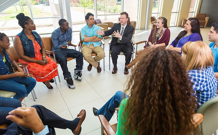 group at a counseling center